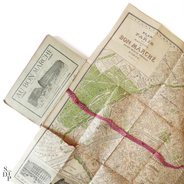 Guide illustré du Bon Marché L'Exposition et Paris 1900 Souviens Toi De Paris vintage vue 5