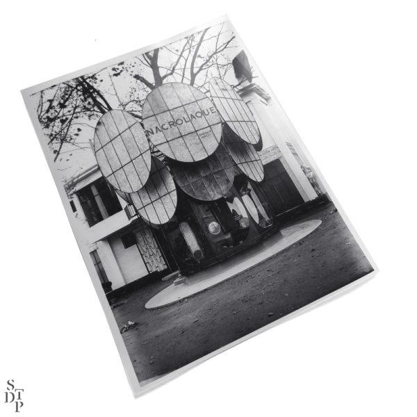 Photo Exposition des Arts Décoratifs Pavillon Nacrolaque 1925 Souviens Toi De Paris vintage photo vue 1