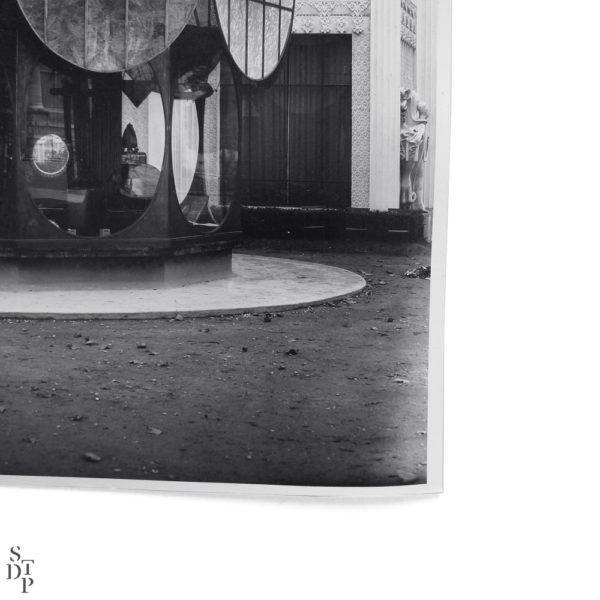 Photo Exposition des Arts Décoratifs Pavillon Nacrolaque 1925 Souviens Toi De Paris vintage photo vue 2