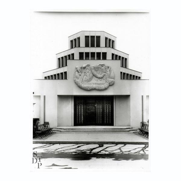 Photo Exposition des Arts Décoratifs le Pavillon Lyon Saint Etienne 1925 Souviens Toi De Paris vue 0