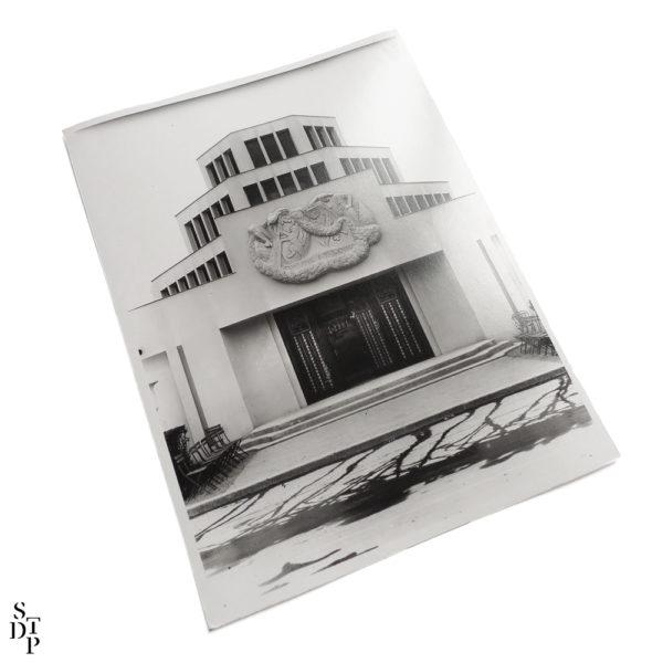 Photo Exposition des Arts Décoratifs le Pavillon Lyon et Saint Etienne 1925 Souviens Toi De Paris vue 1