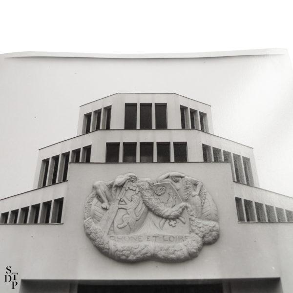 Photo Exposition des Arts Décoratifs le Pavillon Lyon et Saint Etienne 1925 Souviens Toi De Paris vue 2