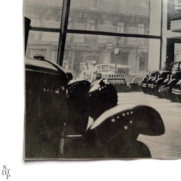 Photo Garage Marbeuf Citroen 1930 Souviens Toi De Paris vintage print vue 2