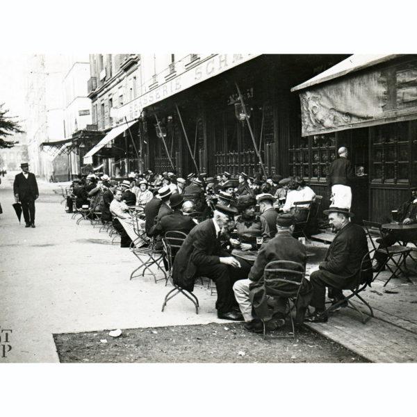 Photo ancienne Brasserie Schmitz avenue de la Motte-Piquet identité judiciaire 1918 Souviens Toi De Paris vintage vue 0
