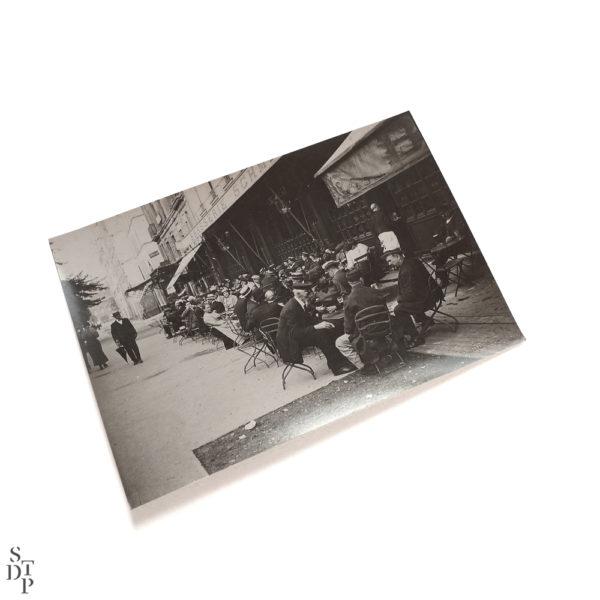 Photo ancienne Brasserie Schmitz avenue de la Motte-Piquet identité judiciaire 1918 Souviens Toi De Paris vintage vue 1