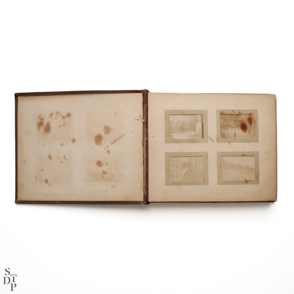 Pocket Kodak album de photos miniatures de Paris Circa 1900 Souviens Toi De Paris vue 1