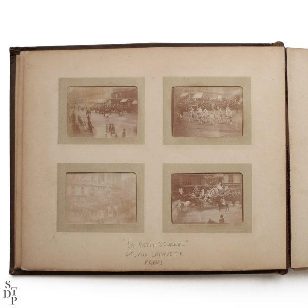 Pocket Kodak album de photos miniatures de Paris Circa 1900 Souviens Toi De Paris vue 2