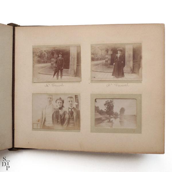 Pocket Kodak album de photos miniatures de Paris Circa 1900 Souviens Toi De Paris vue 5