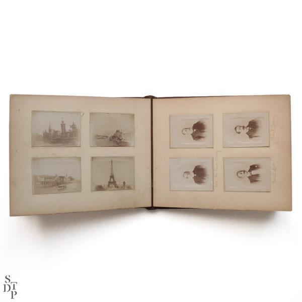 Pocket Kodak album de photos miniatures de Paris Circa 1900 Souviens Toi De Paris vue 6