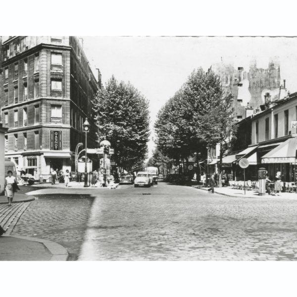 Carte Postale Semi Moderne Rue de Crimée circa 1960 Souviens Toi De Paris vintage vue 0