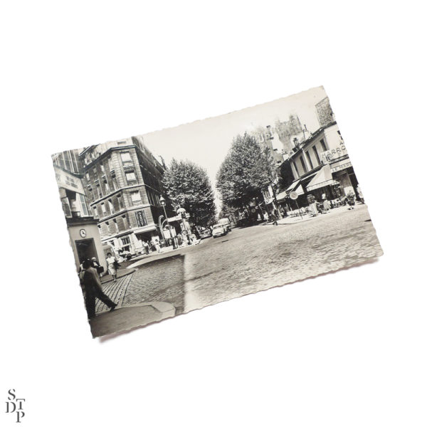 Carte Postale Semi Moderne Rue de Crimée circa 1960 Souviens Toi De Paris vintage vue 1