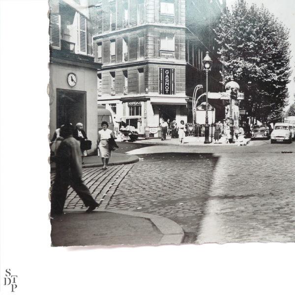 Carte Postale Semi Moderne Rue de Crimée circa 1960 Souviens Toi De Paris vintage vue 2